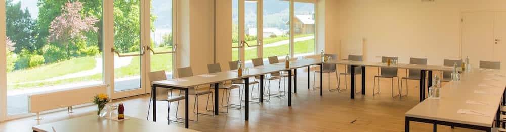 Home Wolfgangsee-Seminarraum