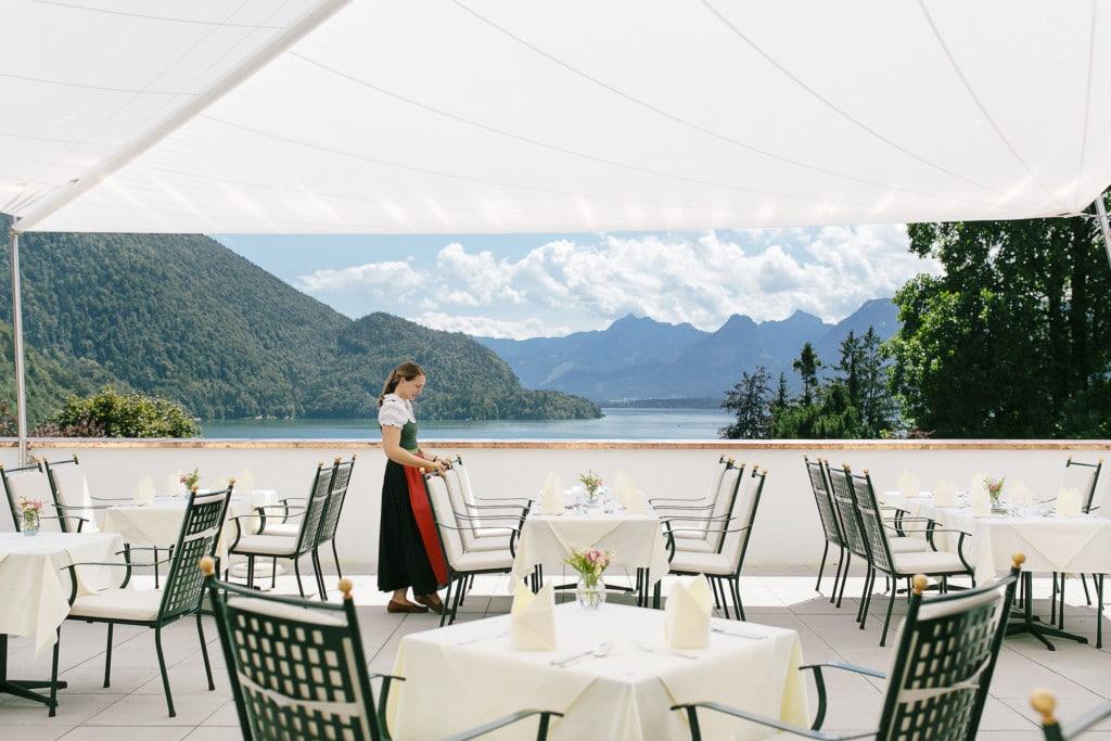 Sommerfrische am Wolfgangsee im Salzkammergut Parkhotel-Billroth-Terrasse5-e1475596245902-1024x683 Naturerlebnis Wandern