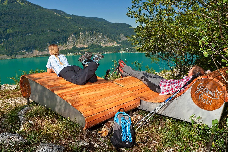 Sommerfrische am Wolfgangsee im Salzkammergut Gschmohplatzl-1024x683 Naturerlebnis Wandern