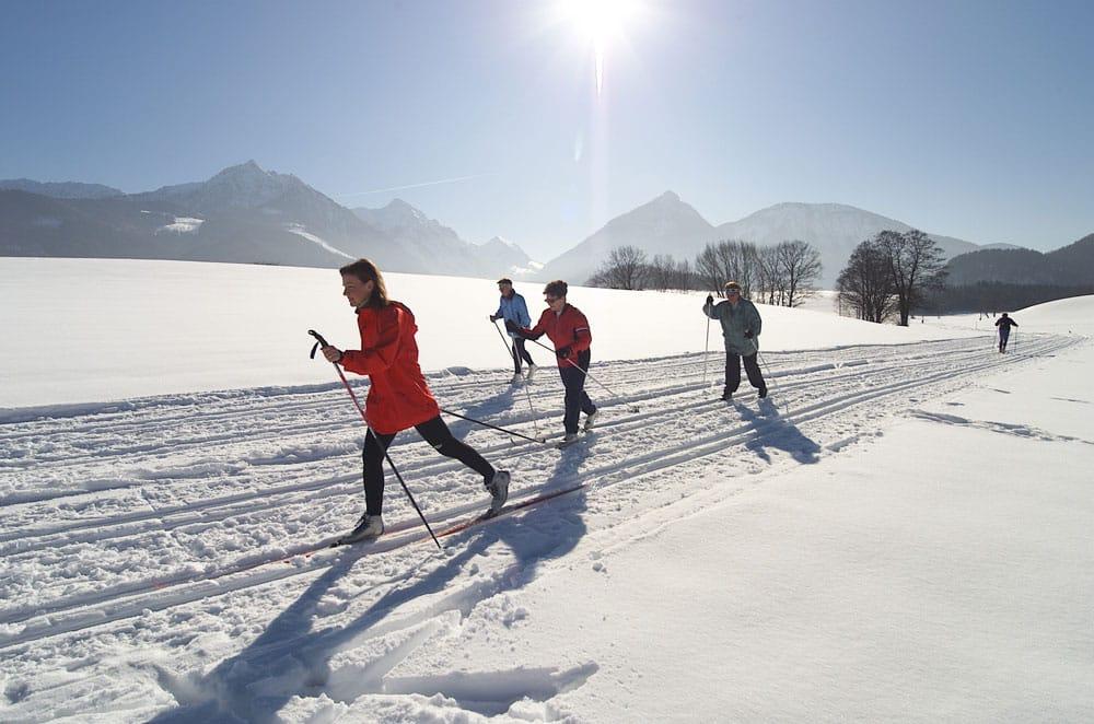 Winter, komm bald wieder! Erinnerungen an schöne Tage im Schnee Langlaufen Winter