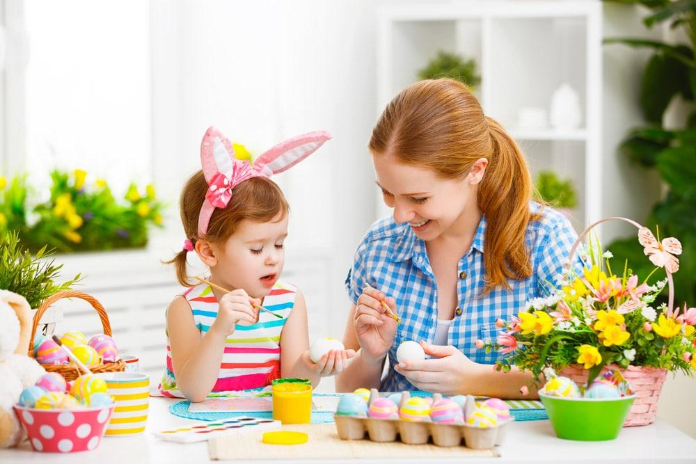 Ostern im Salzkammergut eier-faerben News