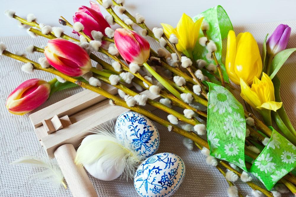 Ostern im Salzkammergut palmkaetzchen News