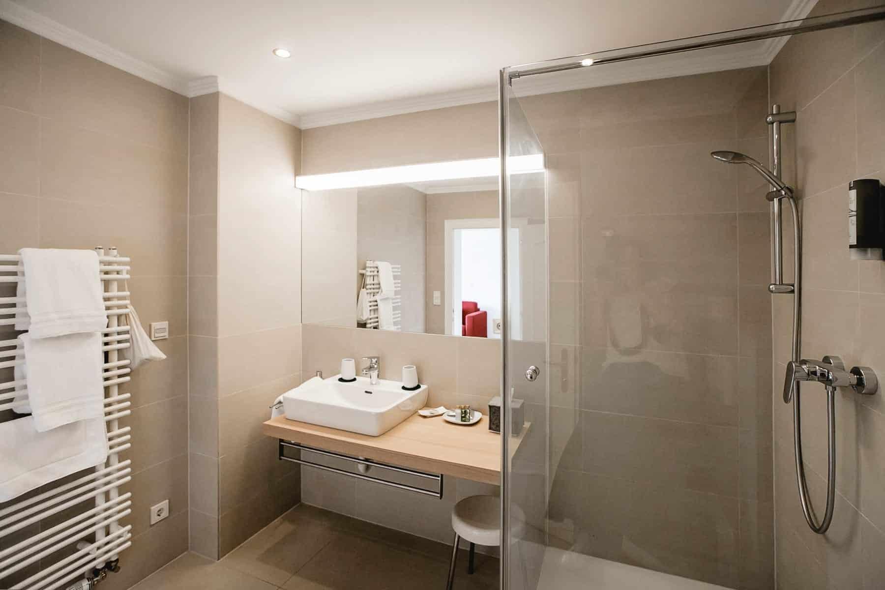 Impressionen Badezimmer-Panorama-Doppelzimmer
