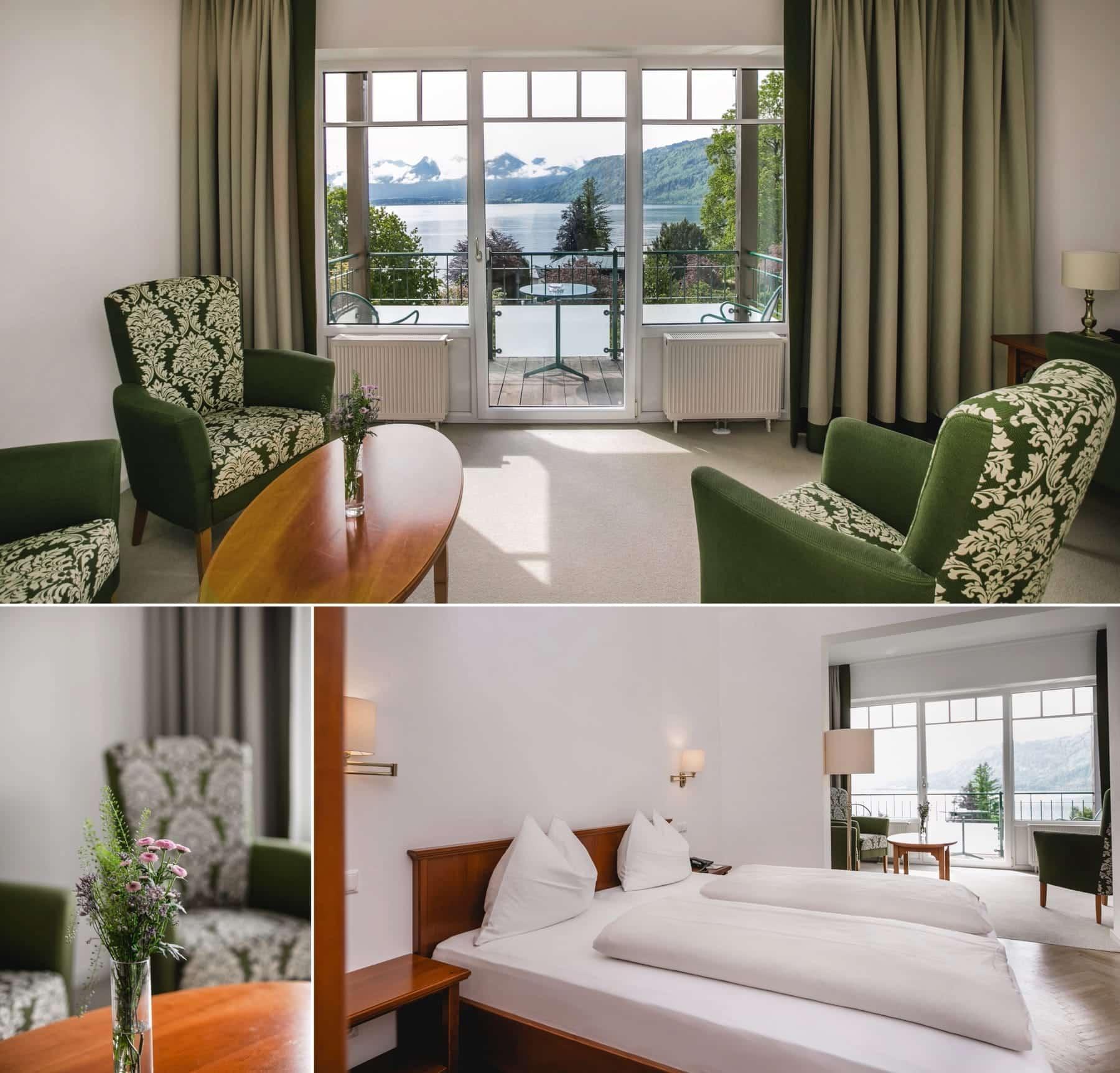 Impressionen Doppelzimmer-Seeblick-Collage